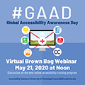 Global Accessilbility Awareness Day Lunch and Learn
